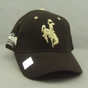 Wyoming Cowboys Adjustable Hat