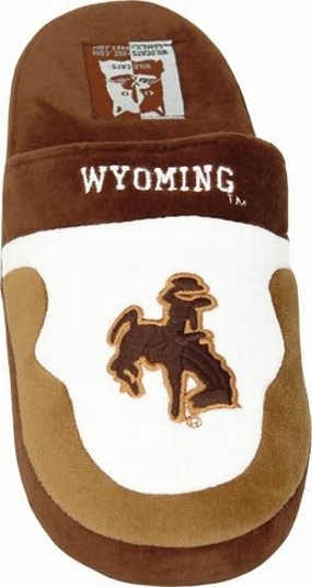 Wyoming Cowboys Slippers