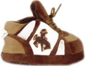 Wyoming Cowboys Baby Slippers