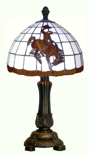 Wyoming Cowboys Accent Lamp