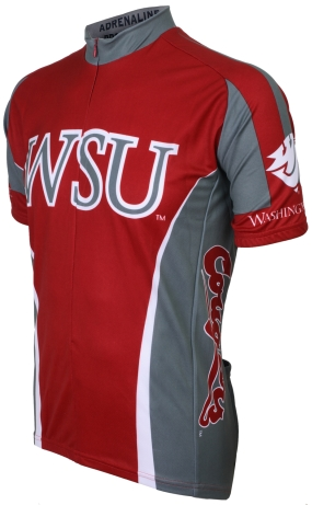 Washington State Cougars Cycling Jersey