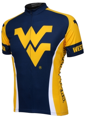 West Virginia Mountaineers Cycling Jersey