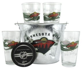 Minnesota Wild Gift Bucket Set