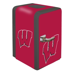 Wisconsin Badgers Portable Party Refrigerator