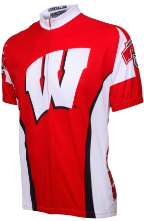 Wisconsin Badgers Cycling Jersey