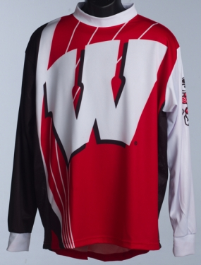Wisconsin Badgers Mountain Bike Jersey