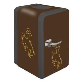 Wyoming Cowboys Portable Party Refrigerator