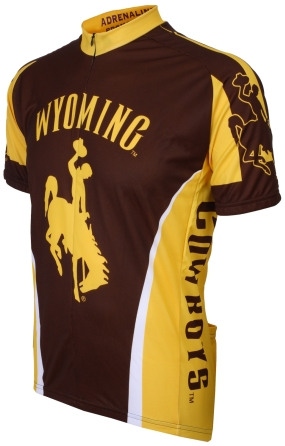 Wyoming Cowboys Cycling Jersey