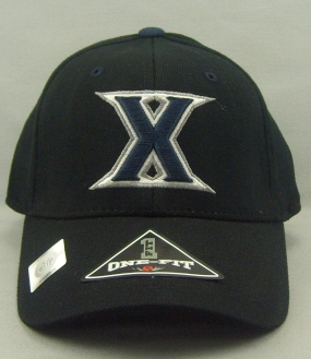 Xavier Musketeers Black One Fit Hat