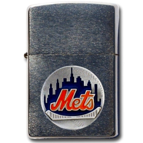 MLB Zippo Lighter - New York Mets