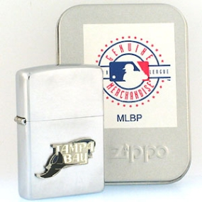 MLB Zippo Lighter - Tampa Bay Devil Rays