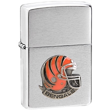 NFL Zippo Lighter - Bengals  Helmet