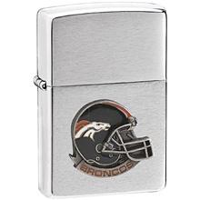 NFL Zippo Lighter - Broncos Helmet