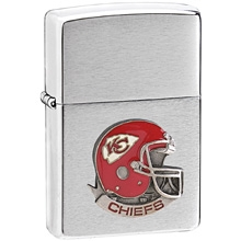 NFL Zippo Lighter - Chiefs  Helmet