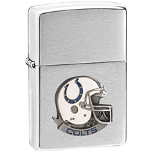NFL Zippo Lighter - Colts Helmet