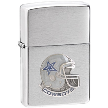 NFL Zippo Lighter - Cowboys Helmet