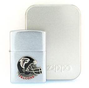 NFL Zippo Lighter - Falcons Helmet