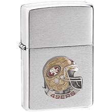 NFL Zippo Lighter - 49ers Helmet