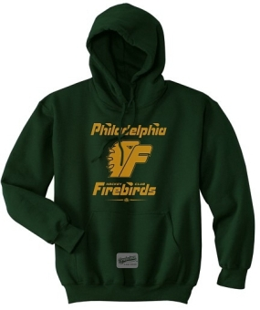 Philadelphia Firebirds Hunter Green Youth Hoody
