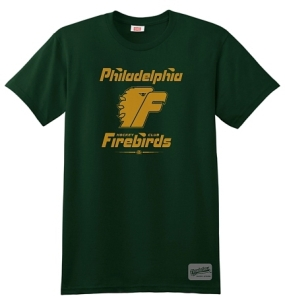 Philadelphia Firebirds Hunter Green Fashion T-Shirt