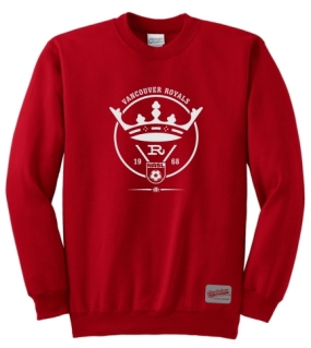 Vancouver Royals Crew Sweatshirt