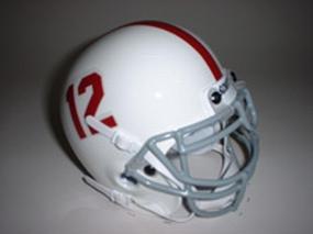 1965 Alabama Crimson Tide Throwback Mini Helmet