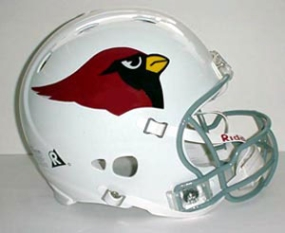 Arizona Cardinals Full Size Revolution Helmet