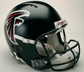 Atlanta Falcons Full Size Revolution Helmet