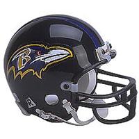 Riddell Baltimore Ravens Full Size Replica Helmet