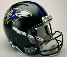 Baltimore Ravens Full Size Revolution Helmet