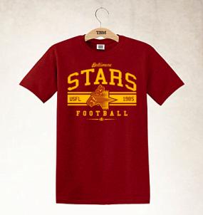 Baltimore Stars Logo Tee