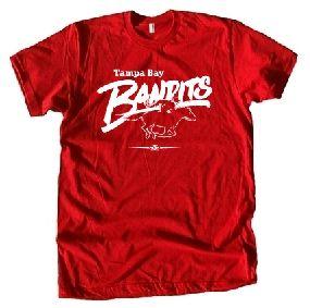Tampa Bay Bandits USFL Ringer T-Shirt