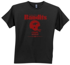 Tampa Bay Bandits USFL Fashion T-Shirt