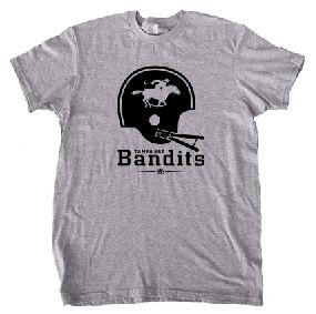 Tampa Bay Bandits Helmet Tee