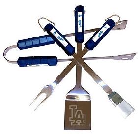 Los Angeles Dodgers BBQ Tool Set