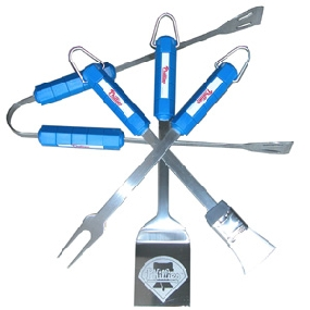 Philadelphia Phillies BBQ Tool Set