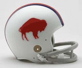 1965-1973 Buffalo Bills Throwback Mini Helmet