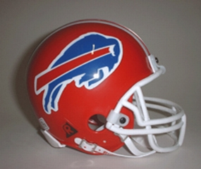 1987-2001 Buffalo Bills Throwback Mini Helmet
