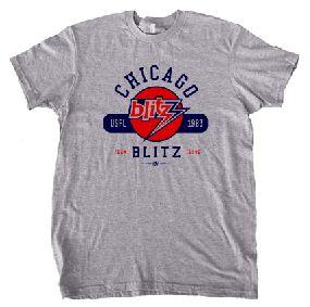 Chicago Blitz USFL Oxford T-Shirt