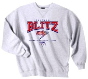 Chicago Blitz USFL Crew