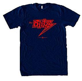 Chicago Blitz USFL Ringer T-Shirt