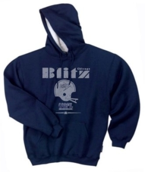 Chicago Blitz USFL Fashion Hoody