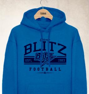 Chicago Blitz Logo Hoody