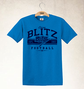Chicago Blitz Logo Tee