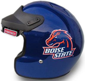 Boise State Broncos Motorcycle Helmet