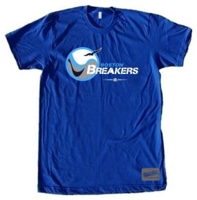 USFL Boston Breakers Logo Tee