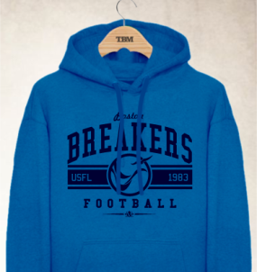 Boston Breakers Logo Hoody