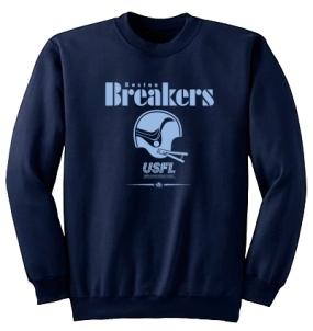 USFL Boston Breakers Locker Crew