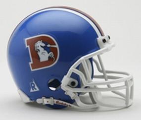 1975-1996 Denver Broncos Throwback Mini Helmet