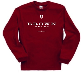 Brown Bears Commons Long Sleeve Tee